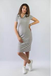 Платье-поло женское 150-300-519