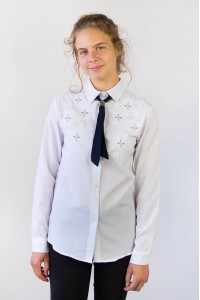 Блуза школьная 175-11698