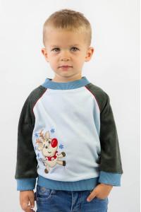 Джемпер ясельный для мальчика 300-1158