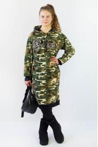 Платье-худи для девочки 300-475