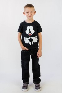 Джинсы для мальчика 503-077